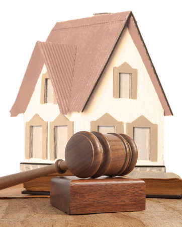 Property offered for sale by a court Stock Photo - 18030376