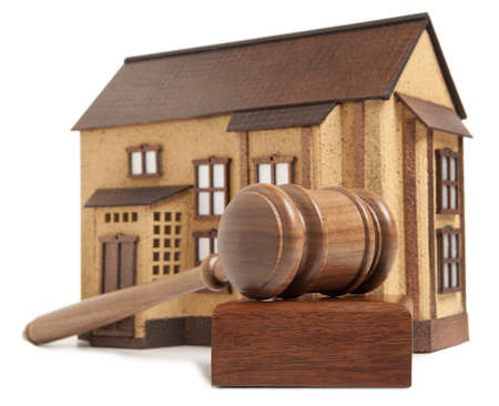Property offered for sale by a court Stock Photo - 18355126