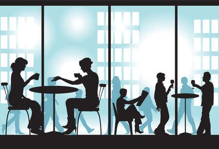 Diner Vector Stock Illustratie
