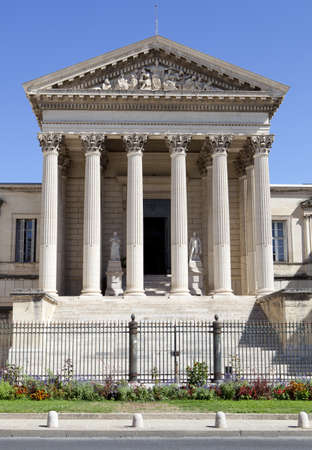 Courthouse of Montpellier, France Languedoc-Roussillon photo