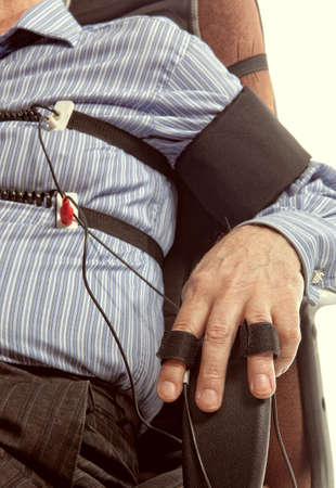 consequence: A man passes a lie detector test