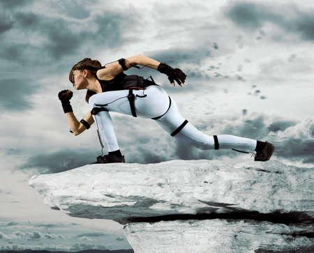 Motion caption virtual reality. Digital technology