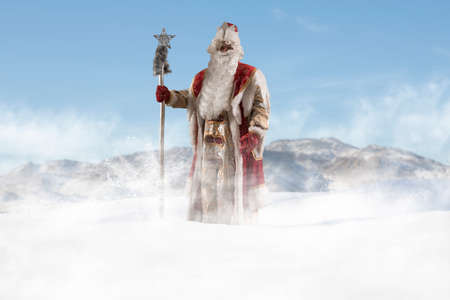 Father Frost (Ded Moroz). Russian fairytale Christmas character similar to Santa Claus
