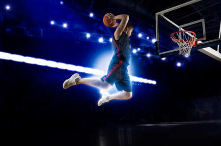 Joueur de basketball. Concept de basket-ball