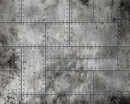 Grunge metal background – Image