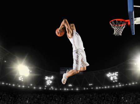 Basketball player. Basketball concept