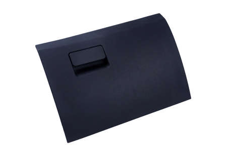 Closed car glove compartment.isolated on a white background