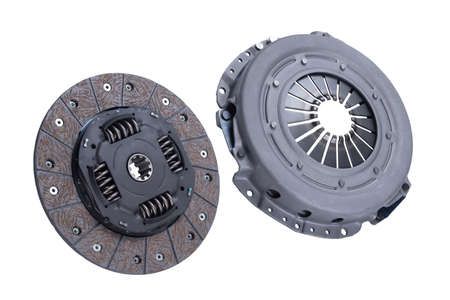 Disc and clutch basket with release bearing. Engine, purse.