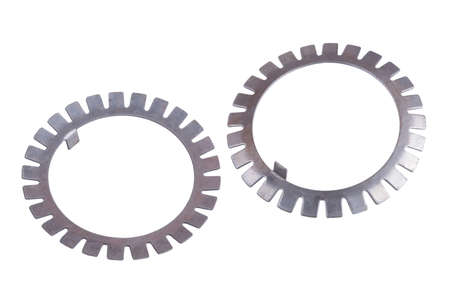 locking gear washer, for chinese truck, isolated on white background