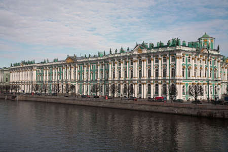 The Hermitage Museum (Winter Palace) in St.Petersburg, Russia. Stock Photo - 2900444