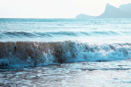 stormy waters: Stormy Sea Waters. Stock Photo