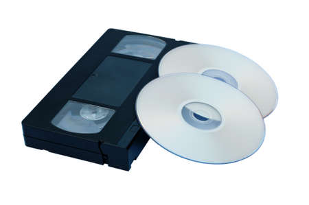 Video cartridge and disk,CD dwd photo
