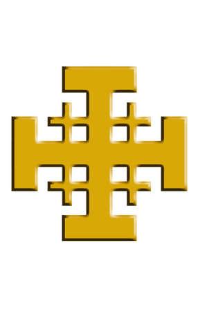 centralized: Jerusalem cross