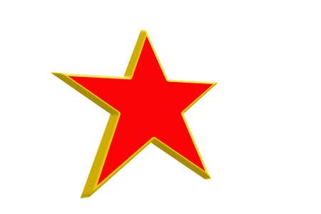 Red star  photo