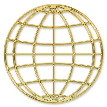 gold globe: Globe