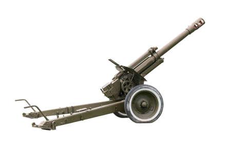 artillery: Old artillery gun