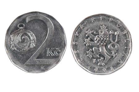 czech republic coin: Coin of the Czech Republic.