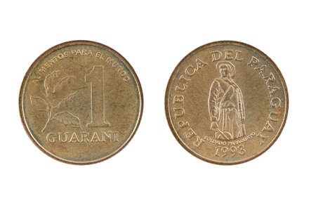 paraguay: coin Paraguay Stock Photo