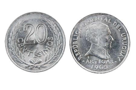 fractional: Uruguay coins