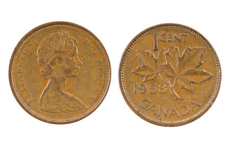 cent: One Cent Canada 1968