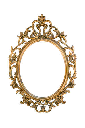 Gold photoframe