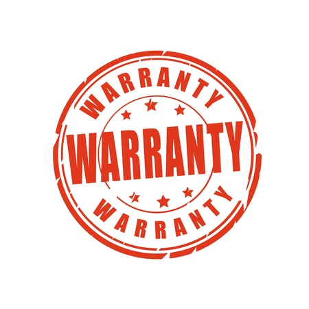 norm: Warranty vector illustration stamp