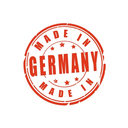 Made in Germany vector illustration stamp