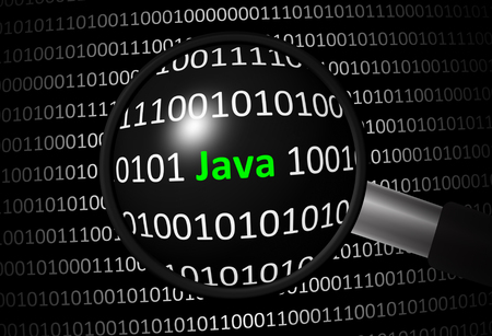 Java with binary code