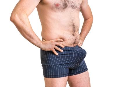Schwarzer Kerl mit großem Penis