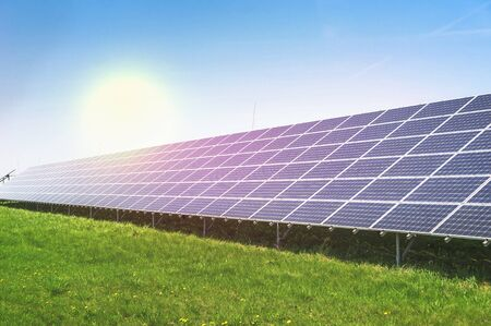 Ecological solar power plant using renewable energy from the Sun