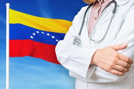 Medical system of health care in the Venesuela. 3D rendered illustration.