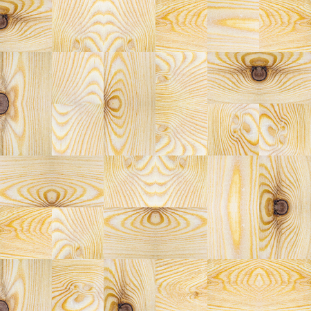 many textured wooden square block patten, square with copy space for text and design about wood work, natural timber, building, craft Banco de Imagens
