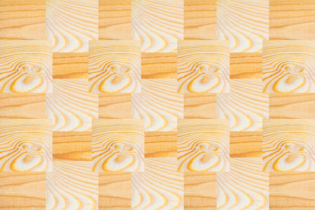many textured wooden square block patten, Horizontal with copy space for text and design about wood work, natural timber, building, craft