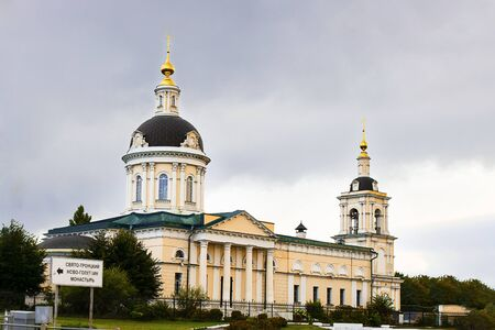 Archangel Michael Orthodox Church in Kolomna, city Golden Ring of Russia. Horizontal. Sightseeing, History, travelling, religion, architecture