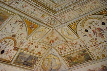 Ceiling background, Sant'Angelo Castel