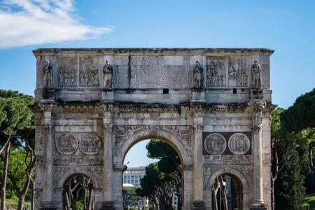 Arch of Constantine, Roman Forum, Rome, Italy