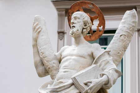 St Andrew Fountain, Amalfi Coast, Piazza del Duomo, Italy