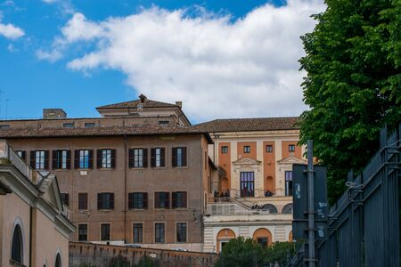 Beautiful buildings from the lovely Rome, Italy Reklamní fotografie