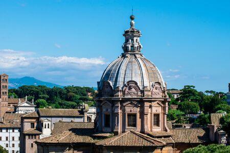 The Church of Santi Luca e Martina, Rome, Roman Forum, Italy