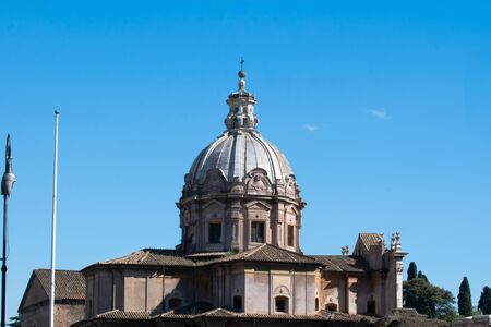 The Church of Santi Luca e Martina, Rome, Roman Forum, Italy