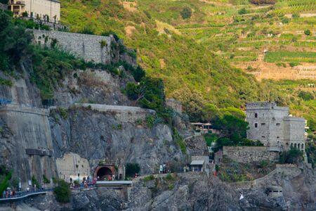 Monterosso al Mare, Coastal Village, Cinque Terre, Italy Banco de Imagens - 131973415