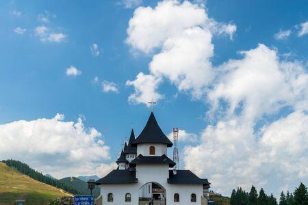 Prislop Monastery from Maramures, Prislop Pass, Romania