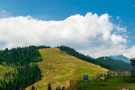 Landscape from the Prislop Pass, Maramures, Romania