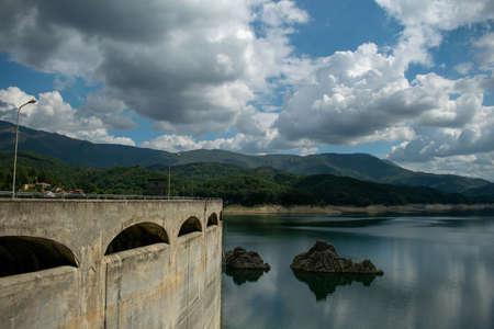 Lago del Salto, Province of Rieti, Italy Foto de archivo - 152800475