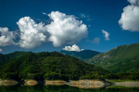 Lago del Salto, Province of Rieti, Italy Foto de archivo - 152800488