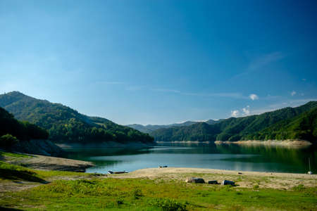 Lago del Salto, Province of Rieti, Italy Foto de archivo - 152800503
