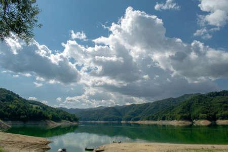 Lago del Salto, Province of Rieti, Italy Foto de archivo - 152800513