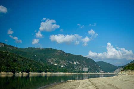 Lago del Salto, Province of Rieti, Italy Foto de archivo - 152800546