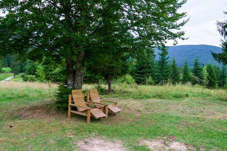Landscape from the Fairies Garden, Borsec, Romania