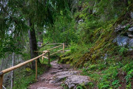 The path to the ice cave, Fairies Garden, Borsec, Romania